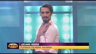 Luciano Rosso realizó un doble papel y se coronó como nuevo monarca...