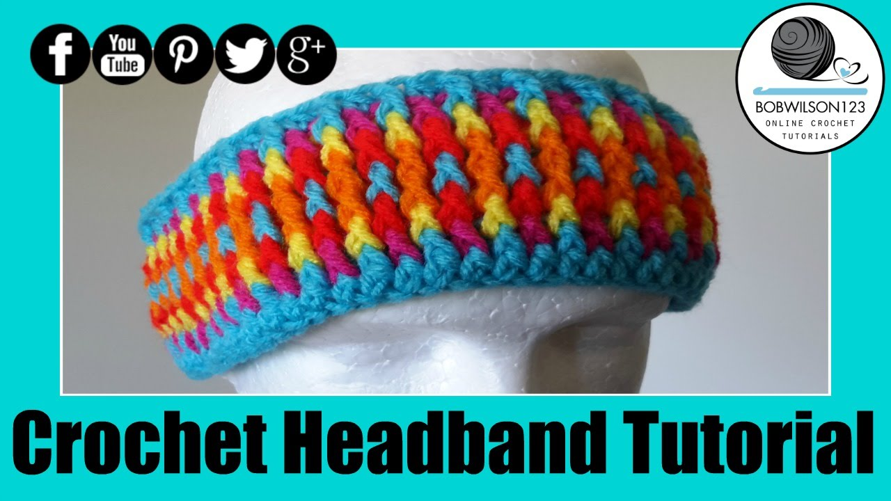 Crochet cozy headband tutorial youtube crochet cozy headband tutorial baditri Image collections