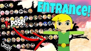 Smash Bros Ultimate Tier List Based on Their Entrance