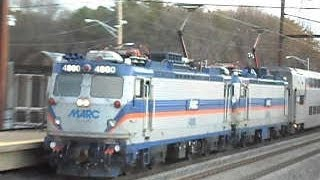MARC Commuter Rail: Penn Line trains @ Odenton Station