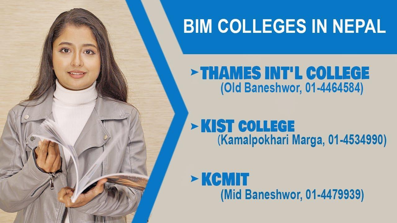 BIM Colleges in Nepal | BIM Program, Scope, Career, Course, Salary, Fees | Top BIM College Kathmandu
