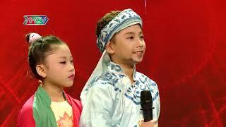 Thánh Hài nhí tiếp tục khuynh đảo sân khấu tài năng khiến dàn giám khảo ghế nóng phấn khích