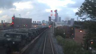 "REAR VIEW FOOTAGE: Leaving Chicago on the ""Capitol Limited"""