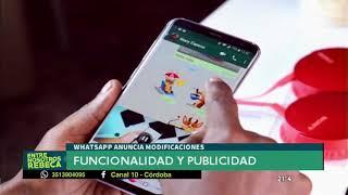 Whatsapp suma nuevas funciones y tendrá publicidad