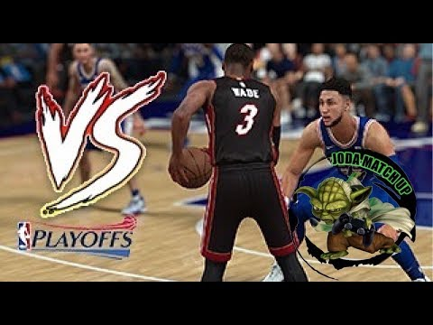 Miami Heat Vs Philadelphia 76ers (PS4 GamePlay) Playoffs ronda 1 NBA 2K18 🏀🎮