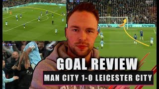 Vincent Kompany's WONDERGOAL! Manchester City 1-0 Leicester City Goal Review