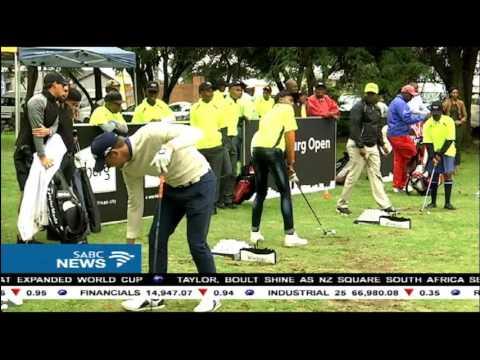 Bongi Mokaba on the Joburg Open and visit to Soweto Country Club
