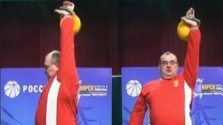 Основы рывка гири от заслуженного мастера спорта Сергея Мишина