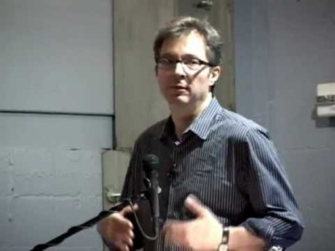 Ted Rall in Seattle, June 2, 2012