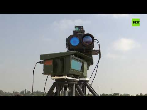 Israel demonstrates new laser weapon at Gaza border