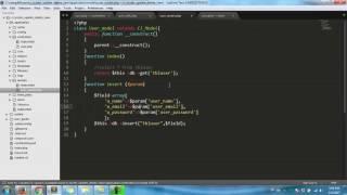 CodeIgniter | Insert Update Delete View in Codeigniter [Update data] Part3 HD