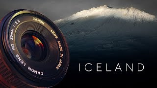 BEST Cheap vintage lenses for travel photography   35mm ICELAND