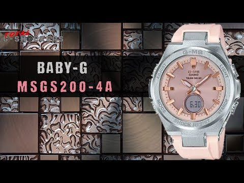 ladies-casio-baby-g-g-ms-pink-&-silver-tone-watch-|-msgs200-4a-top-10-review