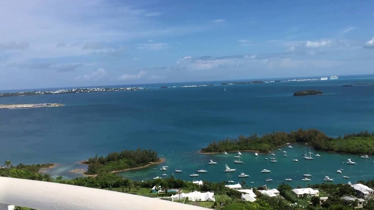Bird S Eye View Of Bermuda From Gibbs Hill Lighthouses Balcony Img 0620