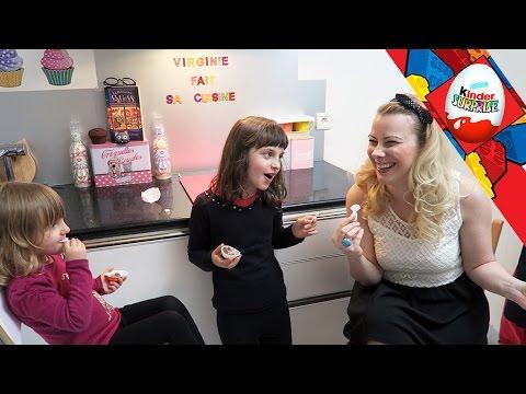[OEUF] Kinder Joy Age de Glace avec Virginie Fait Sa Cuisine - Studio Bubble Tea unboxing