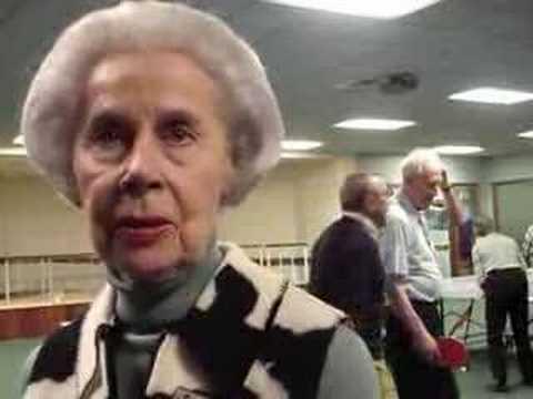 Senior Citizens Ping Pong