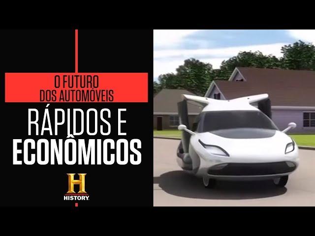 Um novo conceito de carro | O FUTURO DOS AUTOMÓVEIS | HISTORY