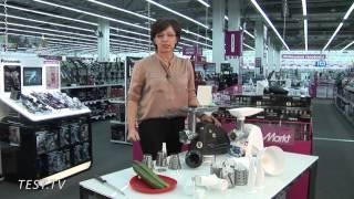 TEST.TV: Мясорубоки Moulinex и Zelmer - кто лучше рубит овощи?