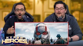 Marvel Studios' Ant-Man and the Wasp - Official Trailer Reaction