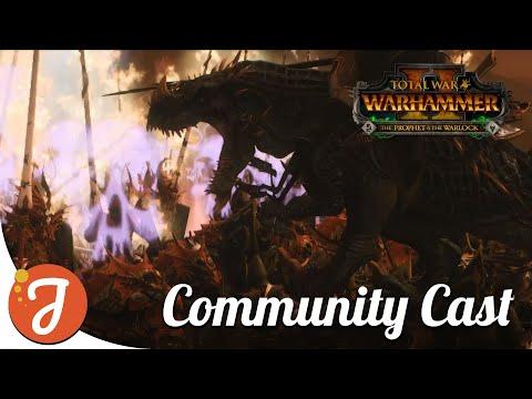 UNFORGING DINOSAURS Feat. Felkon | Dark Elves Vs High Elves | Total War: WARHAMMER II