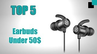 Top 5 Best Earphones Under 50$ | From Aliexpress & Amazon