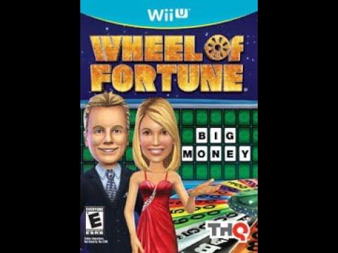 Nintendo Wii U Wheel of Fortune 2nd Run Game #1