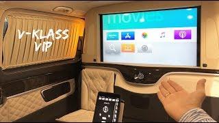 Встречайте самый дорогой Mercedes V-klass VIP за 14 млн 2019