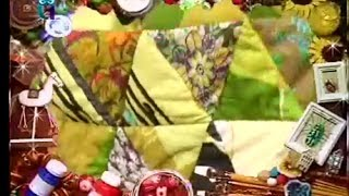 Лоскутное шитье. Равносторонний треугольник - шаблон для сборки лоскутного одеяла. Мастер класс