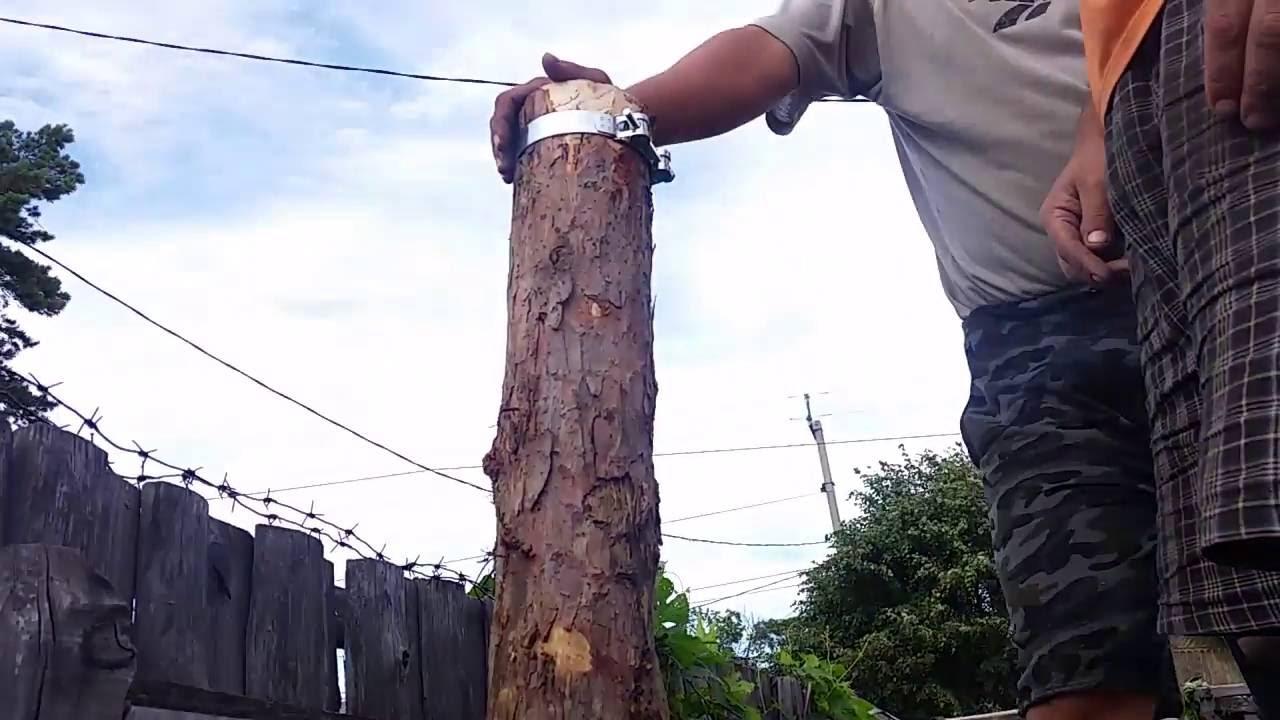 Как защитить деревянные столбы от гниения. Деревянный 47