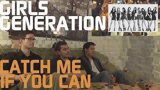 Girls' Generation - Catch Me If You Can Music Video Reaction, Non-Kpop Fan Reaction [HD]