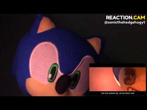 Sonic The Hedgehog reacts to [SFM] Believer VIDAS Cover - Full animation – REACTION.CAM