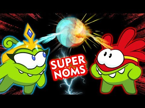 Om Nom Stories: SUPER NOMS! Cut The Rope | NEW SEASON 8 | Funny Cartoons for Children | HooplakidzTV