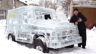 Driving A Car Made Of Ice