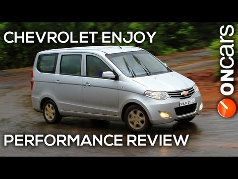 Chevrolet Enjoy Performance Review by OnCars India