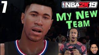 NBA 2k19 My Career - MY NEW TEAM!!!! #7