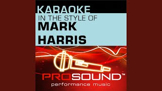 Find Your Wings (Karaoke Lead Vocal Demo) (In the style of Mark Harris)
