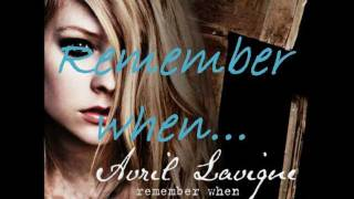 Avril Lavigne - Remember When (lyrics + notes+download link)