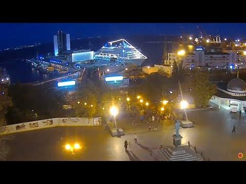 Круизный лайнер «AMERA» в Одессе | Odessa ONLINE ᴴᴰ