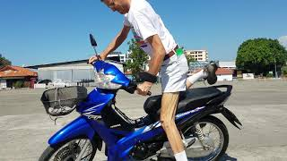 Honda Wave 110i in Thailand Tips how to ride.