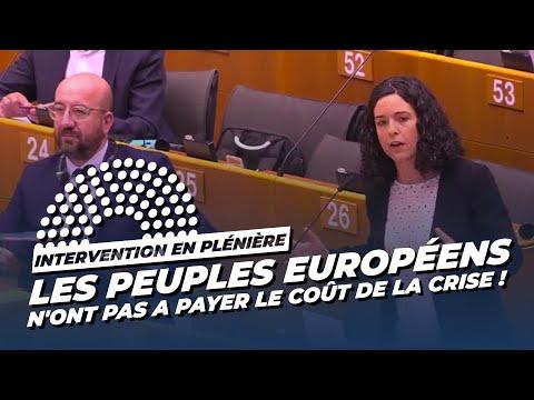 LES PEUPLES EUROPÉENS N'ONT PAS À PAYER LE COÛT DE LA CRISE !