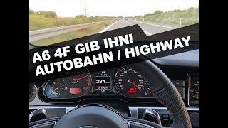 Audi A6 4F 3.0 TDI Quattro Autobahn / Highway GoPro6 Test
