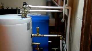 отопление загородного дома (котельная)(первый этап монтажа отопления в загородном доме. Самого дома пока нет но есть старый маленький дом (50м/2)..., 2012-12-13T13:55:07.000Z)