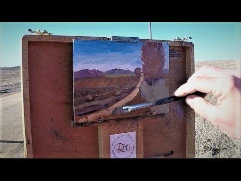 Dennis Tyson Plein Air Oil Painting Demonstration 30 Minute Sketch