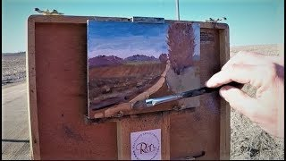 Dennis Tyson Plein Air Oil Painting Demonstration 30 Minute Sketch