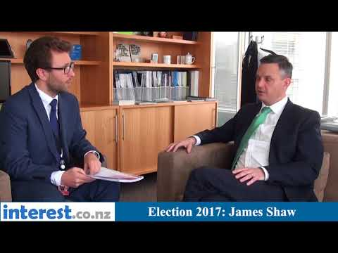 Election 2017: James Shaw