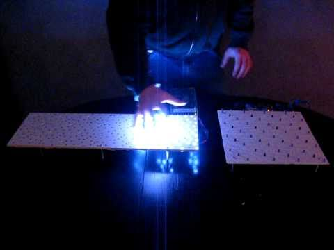 New Interactive LED table module YouTube