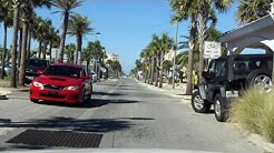 Jacksonville Beach Downtown Tour northbound