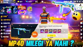 CRAZY BUNNY MP40 MILEGI YA NAHI?? - #JONTYGAMING - GARENA FREEFIRE BATTLEGROUND