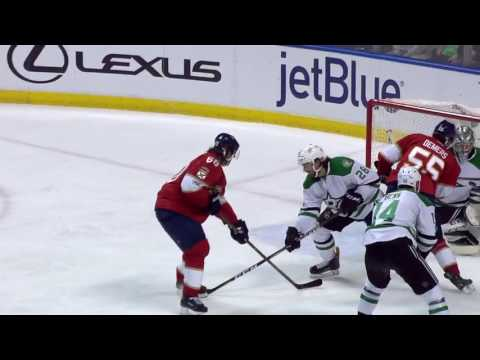 Dallas Stars vs Florida Panthers - March 4, 2017 | Game Highlights | NHL 2016/17