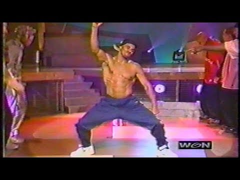 Shemar Moore dances on Soul Train Line 2001